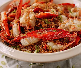 年夜饭里的大明星 | 龙虾糯米炒饭的做法