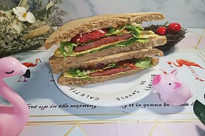 野餐三明治(减脂菜单)