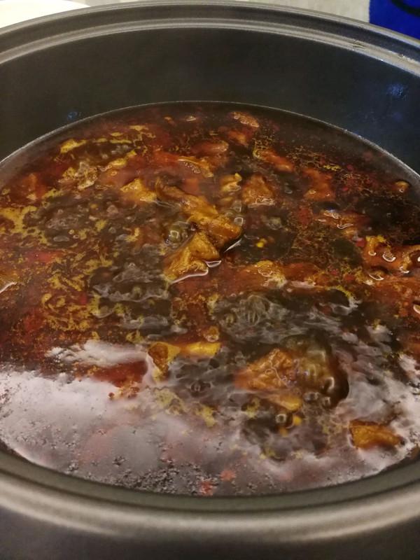 牛腩火锅的做法