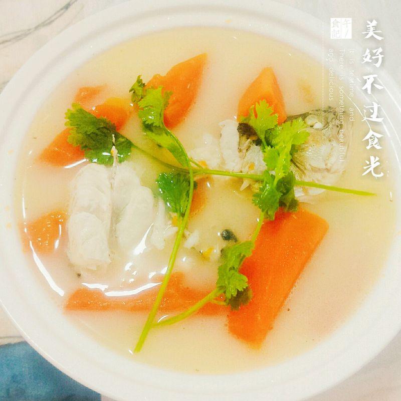 木瓜鲈鱼汤