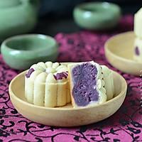 """桃山紫薯月饼#享""""美""""味#"""