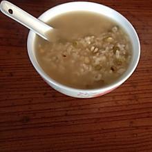 荷叶绿豆薏米粥