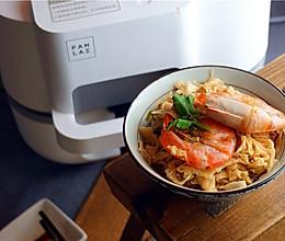 虾干焖笋的做法