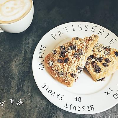 仿星巴克 红豆司康 咖啡最佳搭档 下午茶和早餐最佳选择