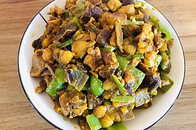 泰国风味:咖喱鸡块
