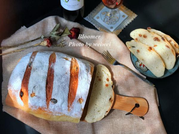 布鲁姆面包(改良一次发酵法)的做法