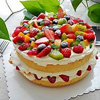 水果奶油裸蛋糕(八寸)#豆果5周年#的做法图解23