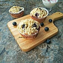 酥粒蓝莓蛋糕#童年不同样,美食有花样#