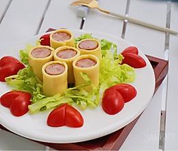 芝士香肠卷~懒人菜的做法