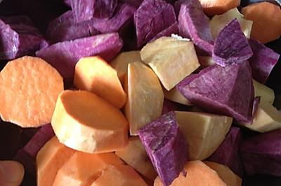 红薯紫薯糖水