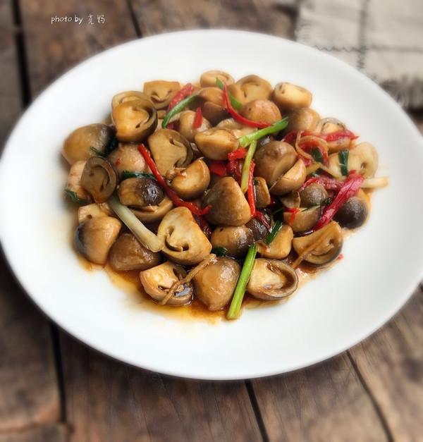 蚝油草菇的做法