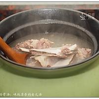 茶树菇排骨汤:味纯清香的老火汤的做法图解3
