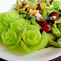 清炒蒜蓉油菜香菇#我要上首页清爽家常菜的做法图解3