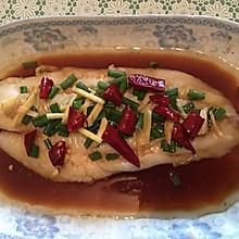清蒸沙巴(龙利)鱼