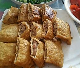 酿豆腐皮的做法