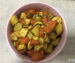 咖喱鸡肉——白领午餐的做法
