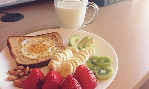 营养早餐的做法