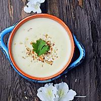 春季里的好味道芝士土豆浓汤#我动了你的奶酪#的做法图解9