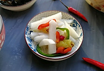 泡菜萝卜(家常小咸菜系列三)的做法