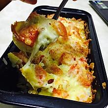 马苏里拉芝士薯仔焗饭