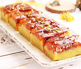 桂花柿子饼豌豆糕的做法