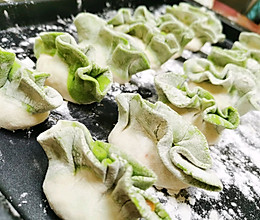 翡翠白玉饺子/白菜饺子/菠菜饺子的做法