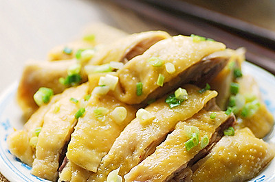 上海葱油鸡