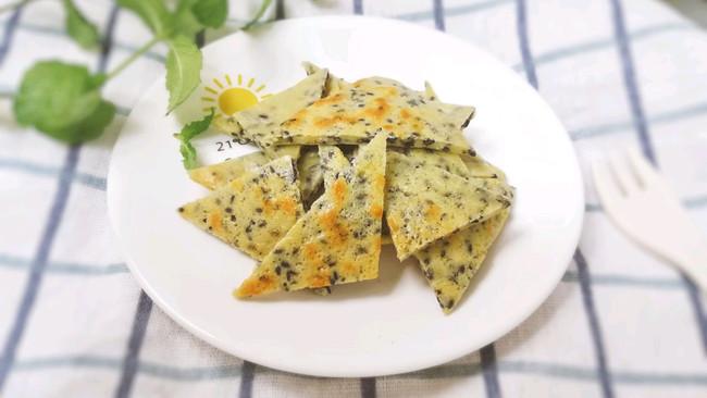 12M+奶香虾皮芝麻饼:宝宝辅食营养食谱菜谱的做法