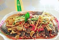 酸菜烧草鱼的做法