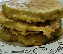 健康低脂豆渣饼的做法