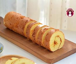 肉松黄芥末酱蛋糕卷的做法