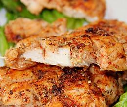 不放一滴油煎超级嫩的孜然鸡胸肉❗️减脂瘦身的做法