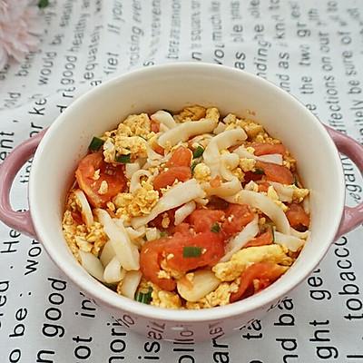 【自制面条】西红柿鸡蛋面