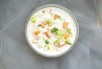 #520,美食撩动TA的心!既能当早餐又能当粥喝的简单早餐的做法