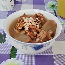 核桃芡实淮山排骨汤