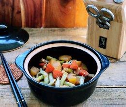 酱香土豆烧豆角的做法