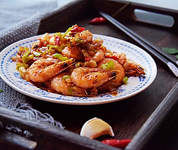 椒盐明虾的做法