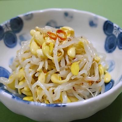 韩式凉拌豆芽