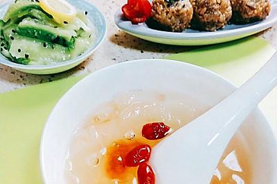 糙米核桃饭团
