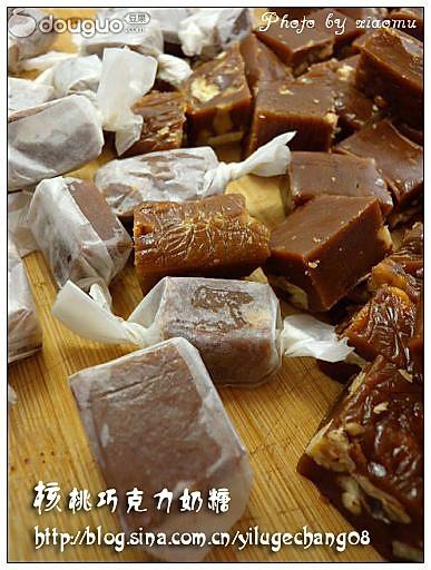 核桃巧克力奶糖的做法