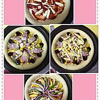 培根披萨  两个的量,自制披萨饼皮+披萨酱 (一)的做法图解11