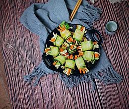 黄瓜三丝卷#硬核菜谱制作人#的做法