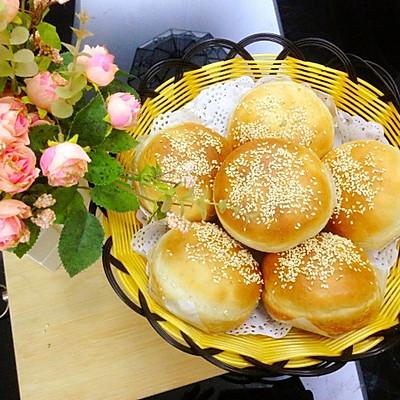 汉堡包(一次发酵法)