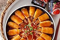 #福气年夜菜#花开富贵金针菇豆皮卷的做法