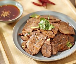 凉拌卤牛肉【孔老师教做菜】的做法