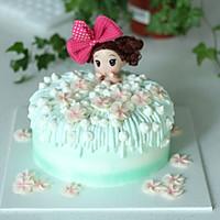 泡泡浴娃娃蛋糕详细制作过程