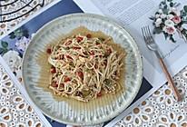 蒜蓉金针菇的做法