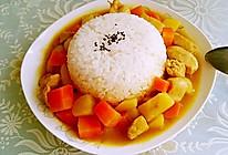 土豆鸡肉咖喱饭的做法