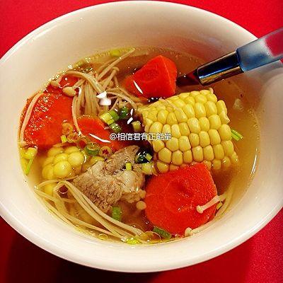 【❤汤】胡萝卜玉米排骨汤
