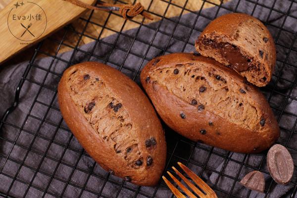 巧克力甜面包的做法